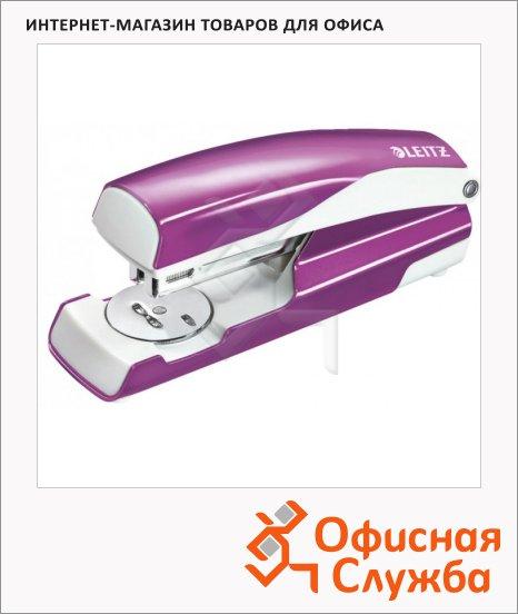 Степлер Leitz NeXXt №24/6, 26/6, до 30 листов, + 200 скоб, фиолетовый