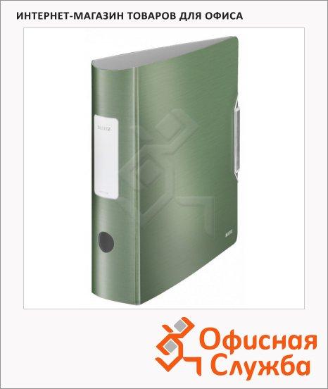 Папка-регистратор А4 Leitz Active Style малахит, 80 мм, 11080053