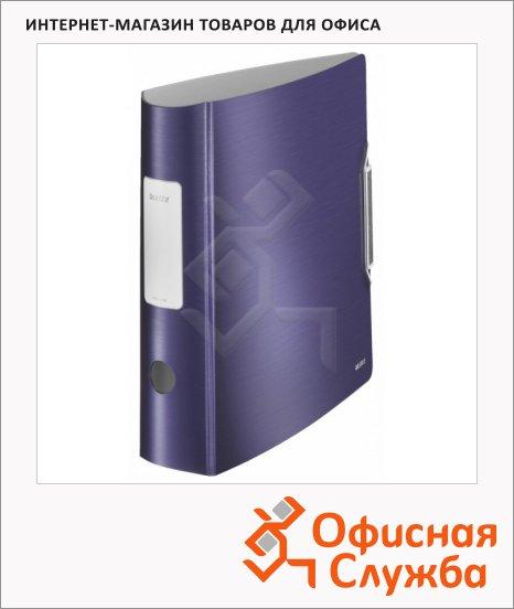 Папка-регистратор А4 Leitz Active Style синий титан, 80 мм, 11080069