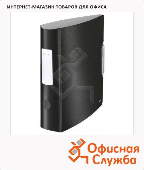 Папка-регистратор А4 Leitz Active Style черная сталь, 80 мм, 11080094