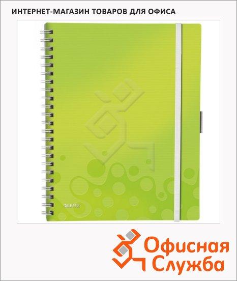 Блокнот Leitz Wow зеленый, 46450064