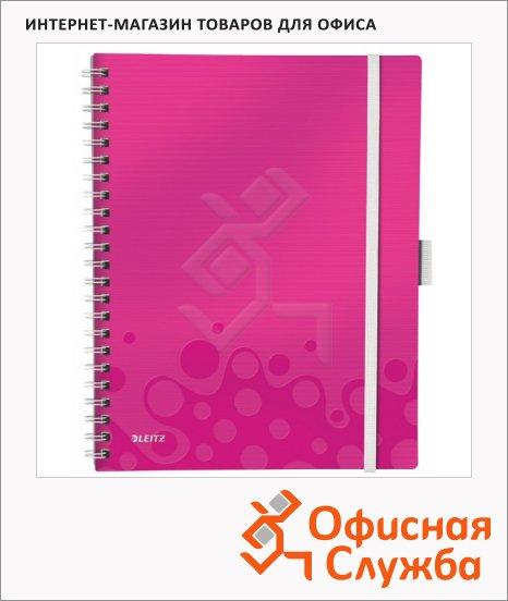 Блокнот Leitz Wow розовый, 46450023