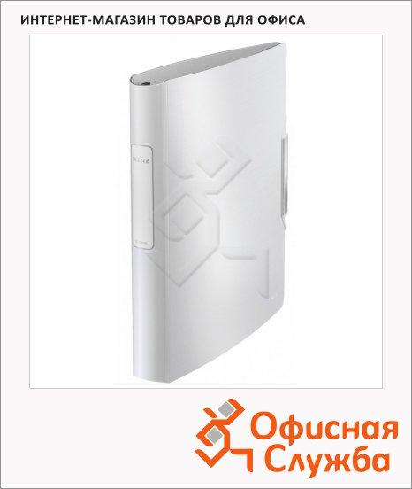 Папка-панорама на 4-х кольцах А4 Leitz Active Style белый арктик, 30 мм, 42450004