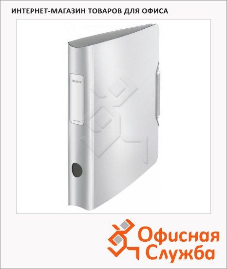 Папка-регистратор А4 Leitz 180° Active Style белая сталь, 65 мм, 11090004