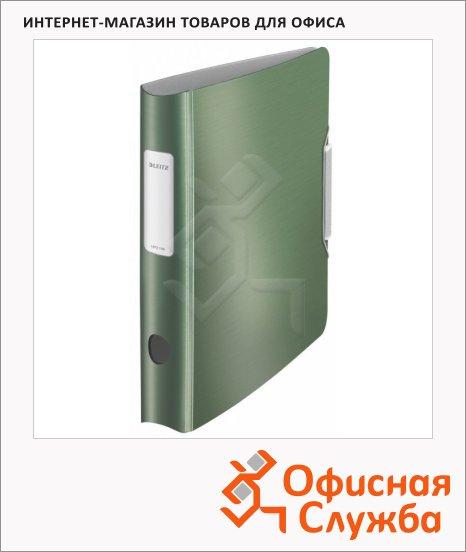 Папка-регистратор А4 Leitz 180° Active Style малахит, 65 мм, 11090053