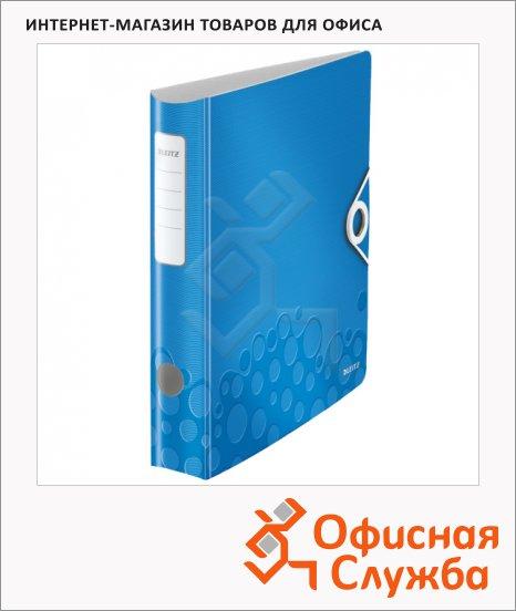 Папка-регистратор А4 Leitz 180° Active Wow синяя, 60 мм, 11070036