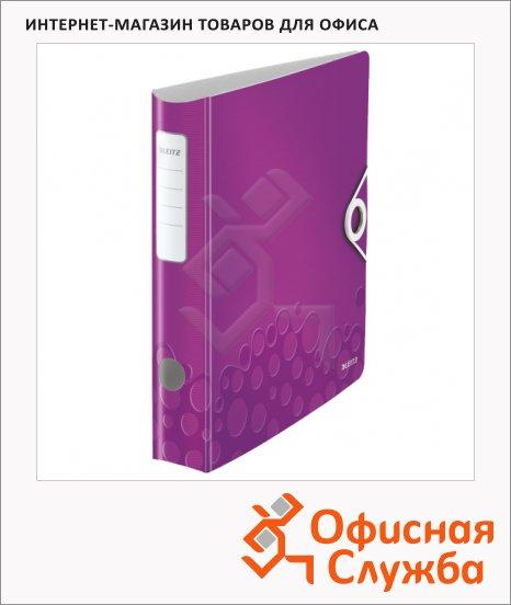 Папка-регистратор А4 Leitz 180° Active Wow фиолетовая, 60 мм, 11070062