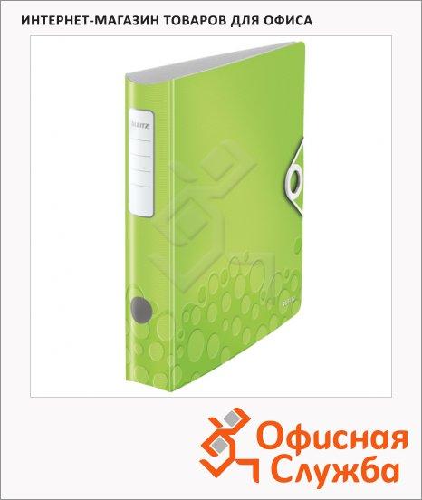 Папка-регистратор А4 Leitz 180° Active Wow зеленая, 60 мм, 11070064