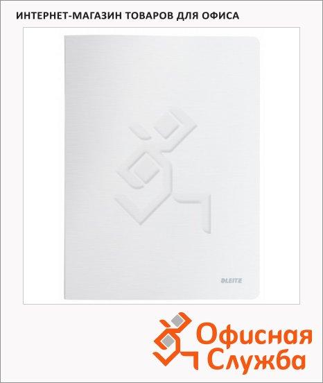 фото: Папка файловая Leitz Style белая сталь А4, на 40 файлов, 39590004