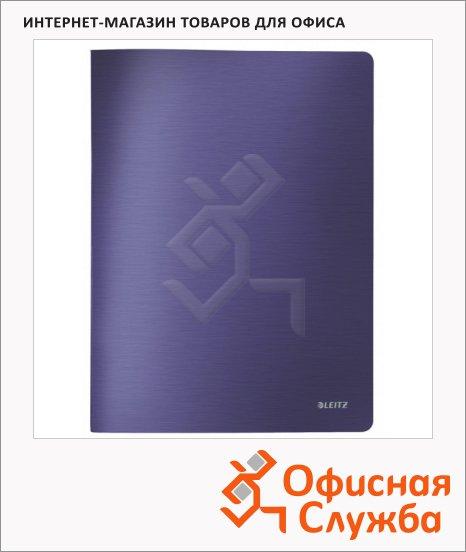 фото: Папка файловая Leitz Style синяя титан А4, на 40 файлов, 39590069