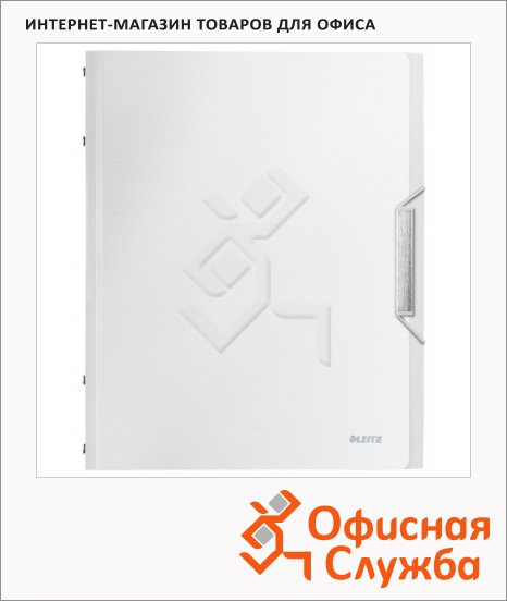 Папка-органайзер Leitz белый арктик, А4, 12 разделов, 39960004