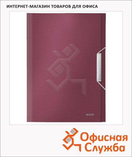 Папка-органайзер Leitz красный гранат, А4, 6 разделов, 39570028