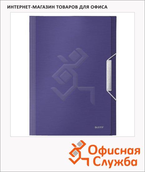 Папка-органайзер Leitz синий титан, А4, 6 разделов, 39570069