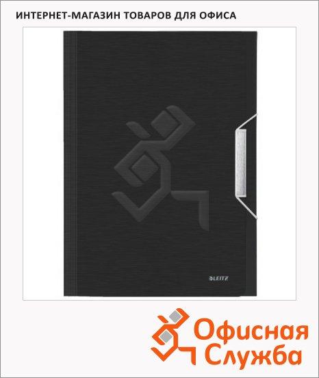 фото: Папка-органайзер Leitz черная сталь А4, 6 разделов, 39570094