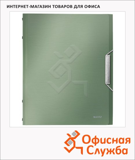 Папка-органайзер Leitz малахит, А4, 6 разделов, 39950053