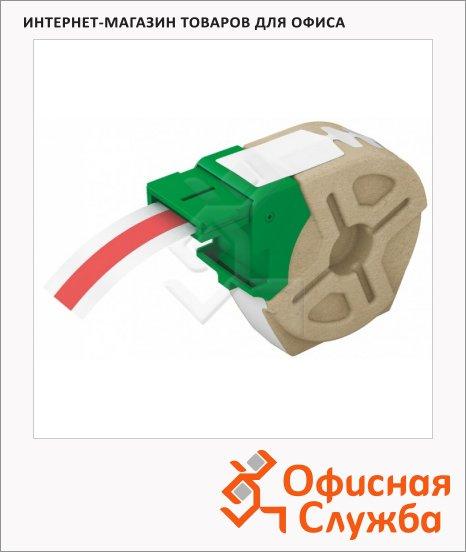 Картридж для принтера этикеток Leitz Icon 12мм х 10м, пластик, красный, 70150025