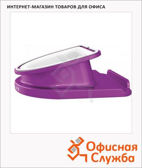 фото: Подставка для планшета Leitz Complete WOW фиолетовая вращающаяся, 62741062