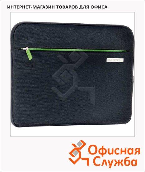 """Чехол для планшета универсальный до 10"""" Leitz Complete Power Sleeve черный, полиэстер, 62930095"""
