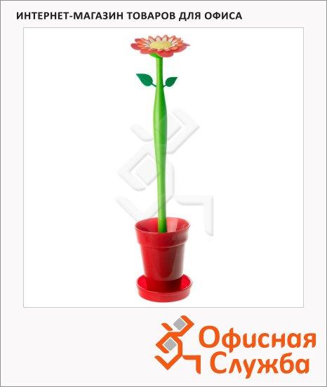 фото: Ершик для унитаза Flower Power Красный пион 42см