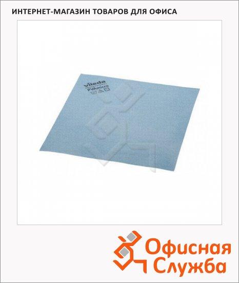 Салфетка хозяйственная Vileda Pro ПВАмикро 35х38см, голубая, 143590