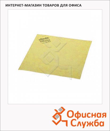 Салфетка хозяйственная Vileda Pro ПВАмикро 35х38см, желтая, 143592