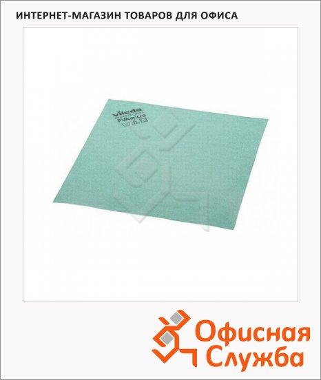 Салфетка хозяйственная Vileda Pro ПВАмикро 35х38см, зеленая, 143593