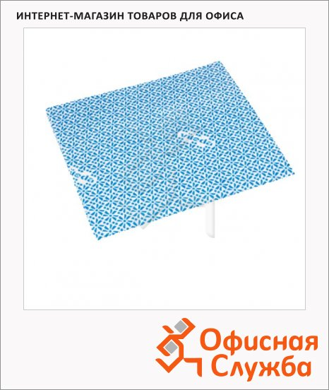 фото: Салфетка хозяйственная Vileda Pro ВайПро Антибак 36х42см голубая, 137005