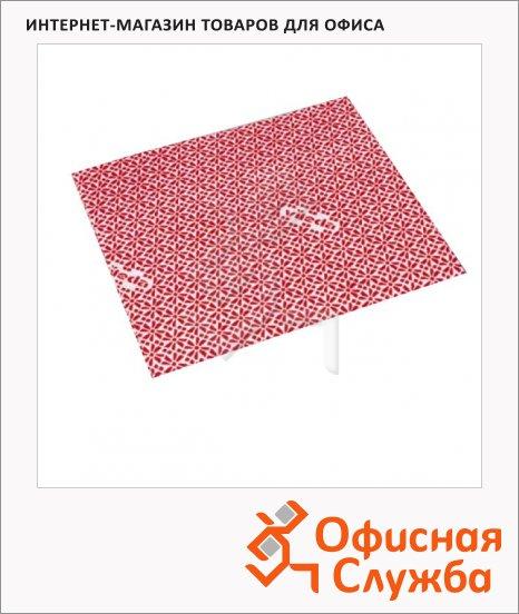 Салфетка хозяйственная Vileda Pro ВайПро Антибак 36х42см, красная, 137007