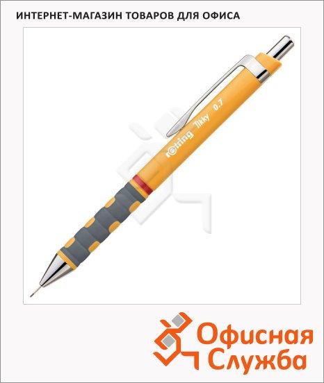 фото: Карандаш механический Tikky New 0.7мм оранжевый корус, 0969110