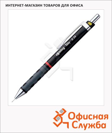 фото: Карандаш механический Rotring Tikky New 0.35мм черный корпус,  0770490