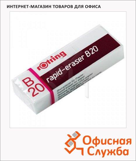 Ластик Rotring Rapid B20, белый, для карандаша, 551120