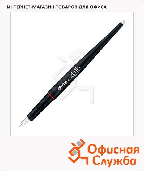 фото: Ручка перьевая Rotring Artpen Lettering черный корпус, M