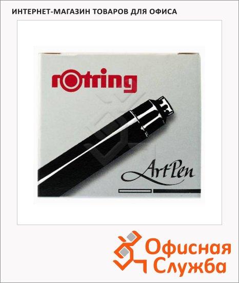 Картридж для перьевой ручки Rotring ArtPen, 6 шт., черный