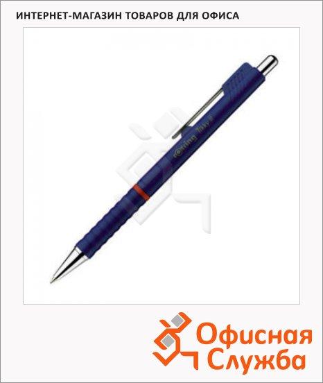 Ручка шариковая автоматическая Rotring Tikky II синяя, 0.5мм, синий корпус