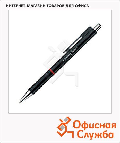 фото: Ручка шариковая автоматическая Rotring Tikky II синяя черный корпус