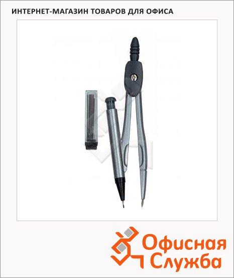 фото: Циркуль Leniar 2 предмета с карандашной вставкой, металлический
