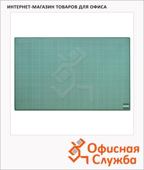 фото: Коврик настольный для резки Aristo 90х60см зеленый, 26090