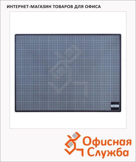 Коврик настольный для резки Aristo 45х30см, серый, 23045