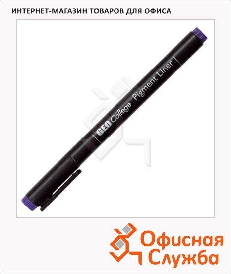 Ручка для черчения Aristo GeoCollege Pigment liner черная, 0.1мм, 23501