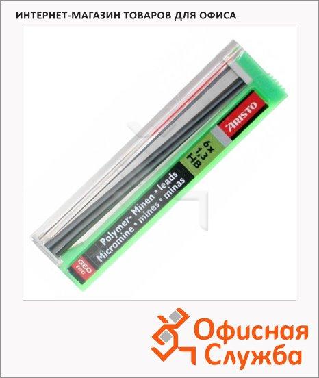 фото: Грифели для механических карандашей Aristo Hi-Polymer НВ 1.3мм, 12шт