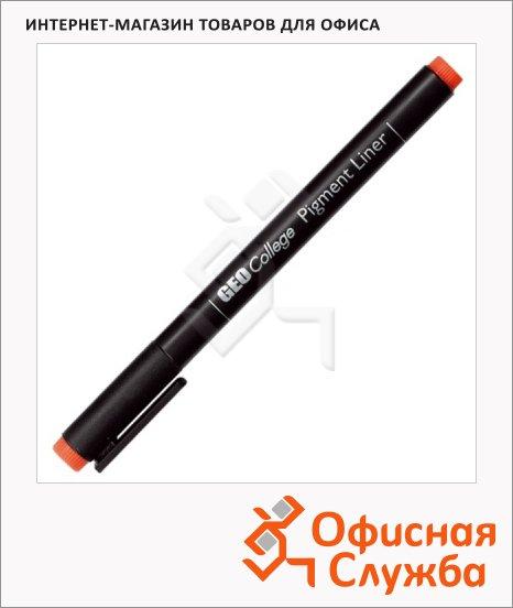 фото: Ручка для черчения Aristo GeoCollege Pigment liner черная 0.2мм, 23502