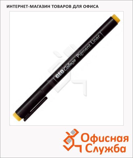 фото: Ручка для черчения Aristo GeoCollege Pigment liner черная 0.3мм, 23503