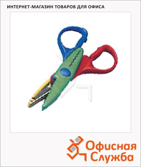 Ножницы детские Leniar 13см, оранжевый