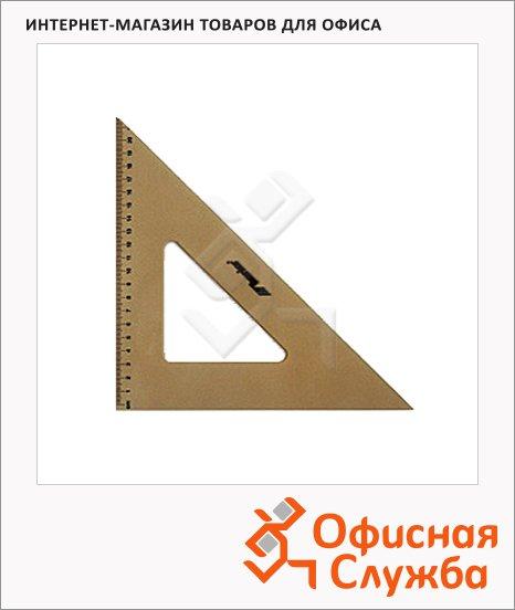 Угольник Leniar 50см, 45°/45°, пластик