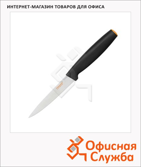 Нож кухонный Fiskars 11см, для корнеплодов
