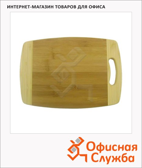 фото: Доска разделочная Termico 33х23х1.8см бамбук