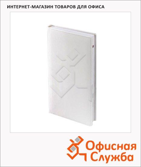 Ежедневник полудатированный Brunnen Вояж Софт белый, А5, 180 листов