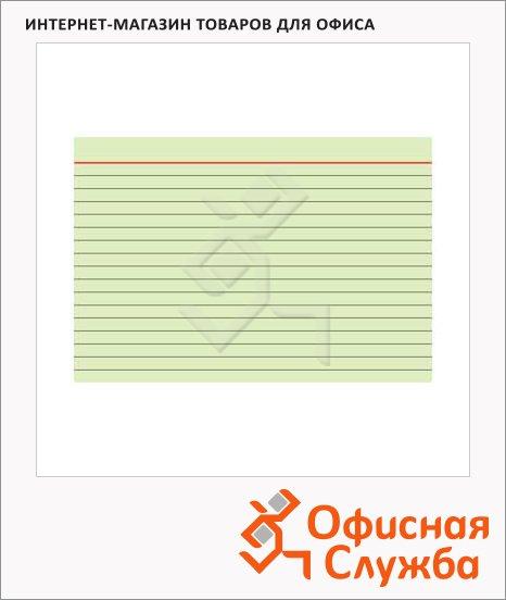 фото: Карточки для картотеки А4 белые, линованные, 100шт