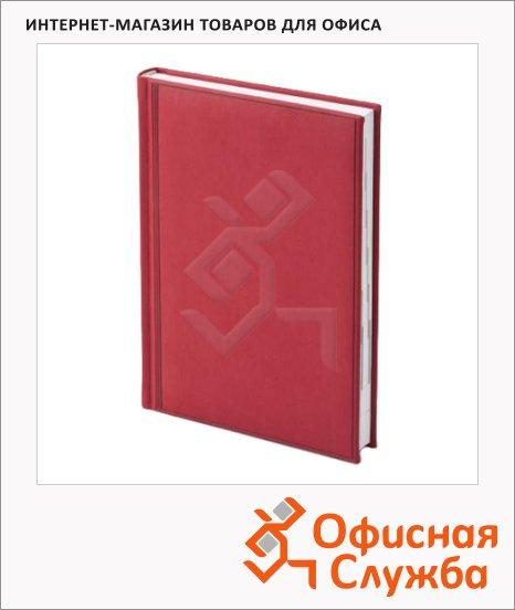 Ежедневник полудатированный Brunnen Оптимум Торино красный, А5, 180 листов