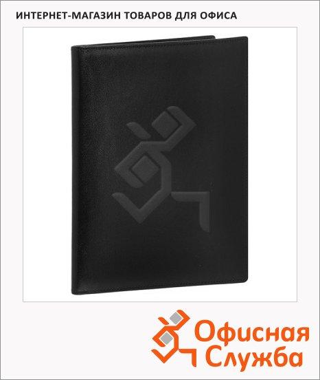 фото: Деловая папка Brunnen Ля Фонтейн черный натуральная кожа, 7-4705-30